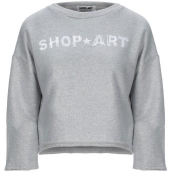 《セール開催中》SHOP ★ ART レディース スウェットシャツ グレー XS コットン 60% / ポリエステル 40%