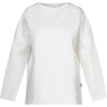《セール開催中》WOOLRICH レディース スウェットシャツ ホワイト M コットン 71% / ポリエステル 29%