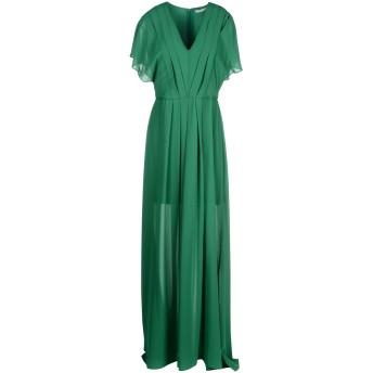 《セール開催中》HOPE COLLECTION レディース ロングワンピース&ドレス グリーン M ポリエステル 100%