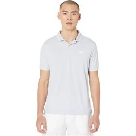 [NIKE(ナイキ)] メンズポロシャツ NIKECourt Dry Polo Team Sky Grey/White/White S [並行輸入品]