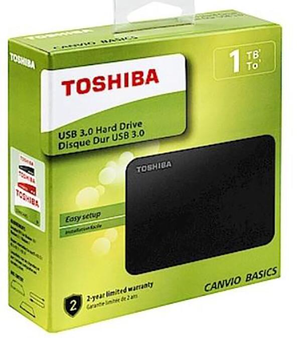 [電子威力] toshiba a3 basic 1000g 1tb 2.5吋 行動硬碟 黑色