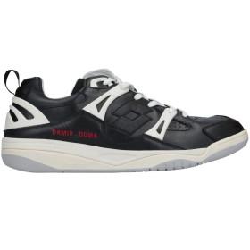 《セール開催中》DAMIR DOMA x LOTTO メンズ スニーカー&テニスシューズ(ローカット) ブラック 44 革 / ゴム / 紡績繊維