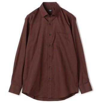 (CROWDED CLOSET/クラウデッドクローゼット)【EASYCARE】コットンドビーシャツ/メンズ ブラウン