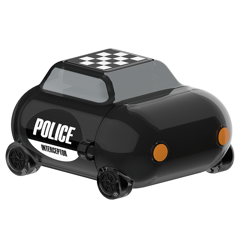 MoveBuddy AirPods 小汽車系列耳機套-透黑