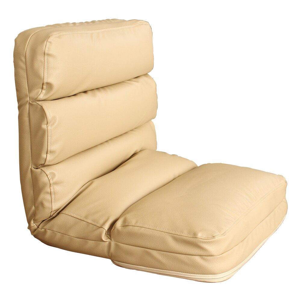JP Kagu 日式低背加厚五段式皮和室椅躺椅