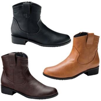 GeeRA ウエスタン調ブーツ 23.0cm レディース 5,000円(税抜)以上購入で送料無料 ブーツ 春 レディースファッション アパレル 通販 大きいサイズ コーデ 安い おしゃれ お洒落 20代 30代 40代 50代 女性 靴 シューズ