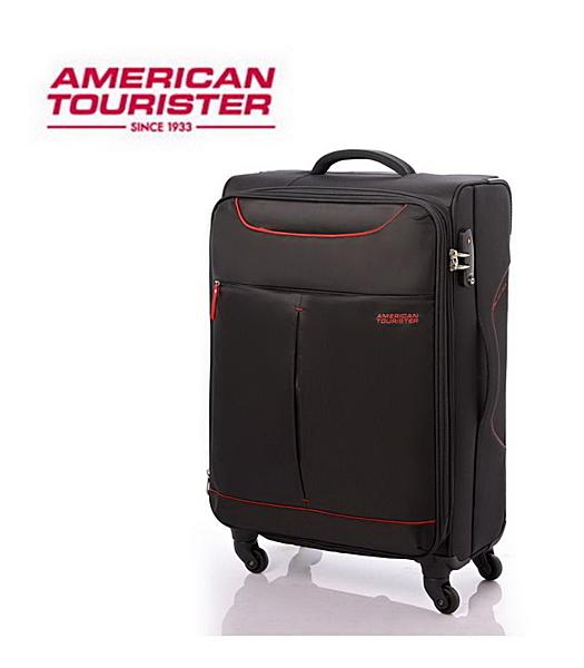 AT 美國旅行者 Sky商務休閒可擴充布面 行李箱 旅行箱 31吋 25R