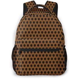 バックパック 網 紋様 Pcリュック ビジネスリュック バッグ 防水バックパック 多機能 通学 出張 旅行用デイパック