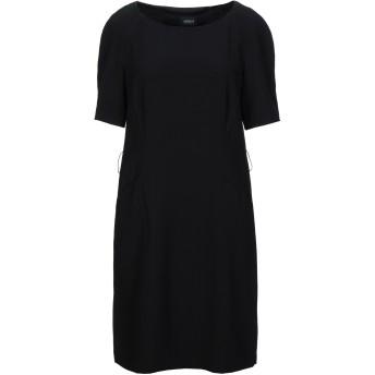 《セール開催中》ARMANI JEANS レディース ミニワンピース&ドレス ブラック 44 ポリエステル 100%
