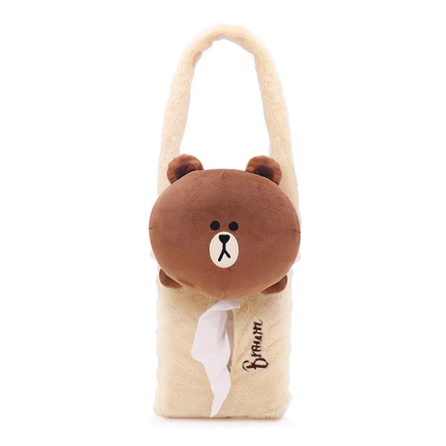 GARMMA LINE FRIENDS 可掛式面紙盒 熊大