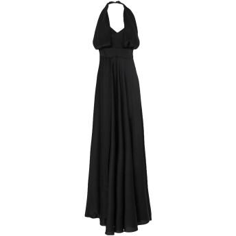 《セール開催中》MISS YOU レディース ロングワンピース&ドレス ブラック 46 ポリエステル 100%