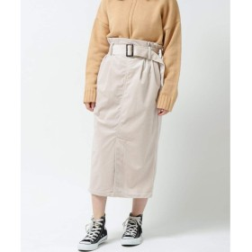 レイカズン(RAY CASSIN) ベルト付コーデュロイスカート【生成/FREE】
