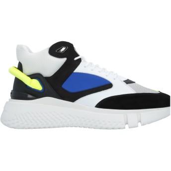 《セール開催中》BUSCEMI メンズ スニーカー&テニスシューズ(ローカット) ブラック 39 紡績繊維 / 革