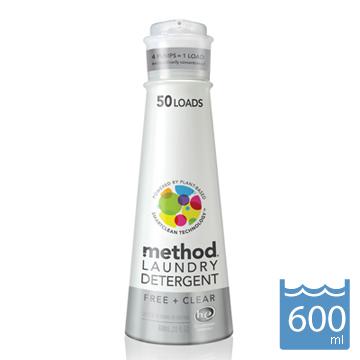 Method 美則八倍濃縮智慧環保洗衣精-無香料600ml
