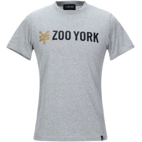 《セール開催中》ZOO YORK メンズ T シャツ グレー XS コットン 100%