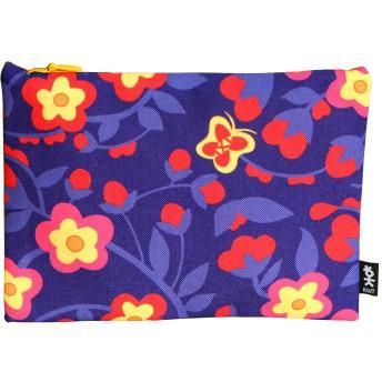 [HAUT] 韓国の伝統的な絵画を応用したパターンのジップロックの袋、化粧品、ファッションポーチ、小銭カード入れ02