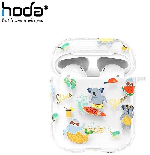 hoda Apple AirPods 1/2 透明保護殼 呆萌系列-無尾熊