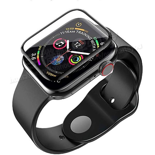 【3D曲面複合保護貼 】Apple Watch Series 4/5 40mm PMMA+PC 複合材料螢幕保護貼/高透纖維強化保護膜-ZW