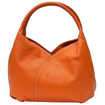 montaria チューリップ型ミニハンドバッグ 【d-5005-orange】