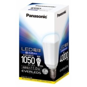 パナソニック LED電球 EVERLEDS (直下タイプ 11.0W・E26・電球60W形相当 1050 lm・昼光色相当) LDA11DHW