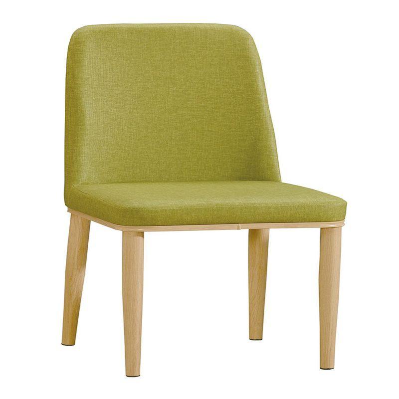 【GA909-12】坦菲綠色皮餐椅