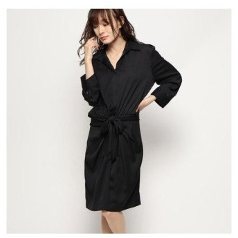 ゲス GUESS NAHIA DRESS (JET BLACK)