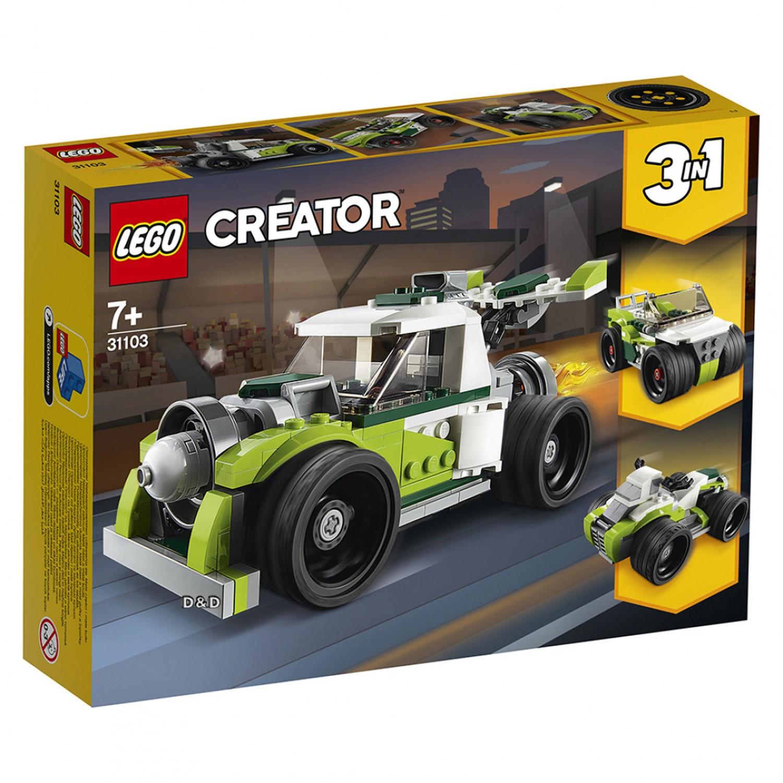樂高 LEGO 創意大師系列 LT31103 火箭卡車