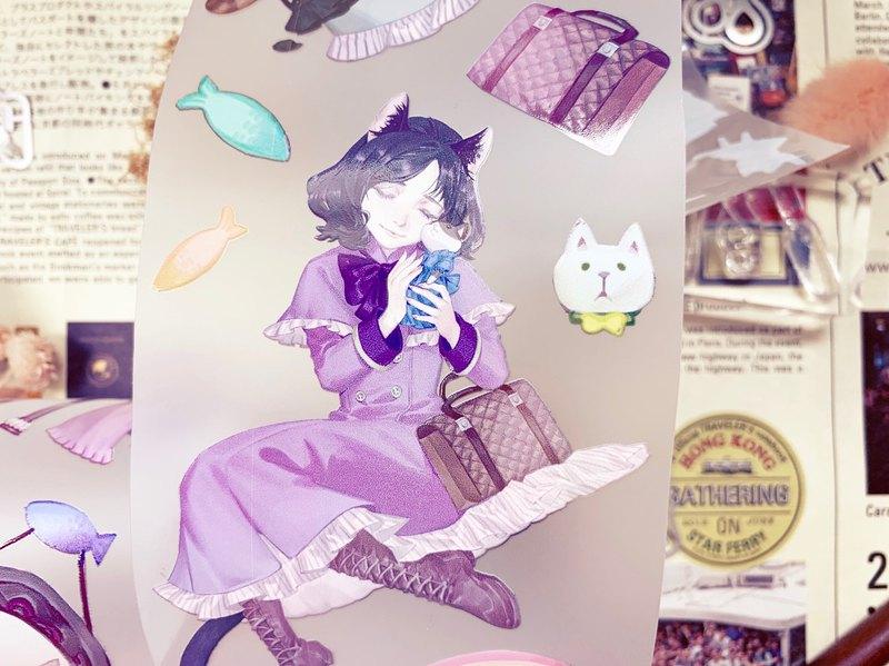 貓咪樂園 2 Kitty Paradise 2  / 紙膠帶 Masking Tape