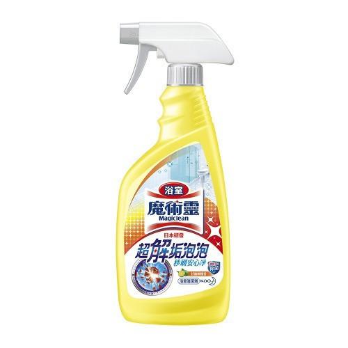 花王 魔術靈浴室清潔劑噴槍500ml (檸檬)