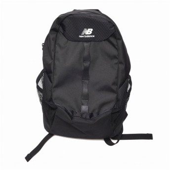 (NB公式)【ログイン購入で最大8%ポイント還元】 キッズ ジュニアバックパック (ブラック) バッグ 鞄 リュックサック/デイパック ニューバランス newbalance