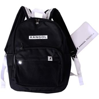 KANGOL カンゴール リュック リュックサック バッグ バックパック デイバッグ マザーズバッグ ミニポーチ付き KGSA-BG00035