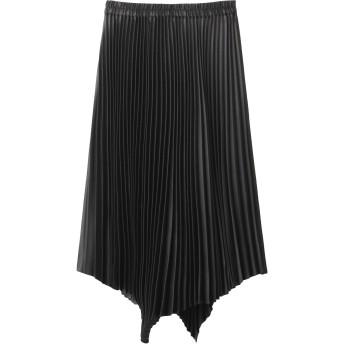 SALE 【30%OFF】 martinique マルティニーク 【LAVENTURE martinique】プリーツスカート ブラック