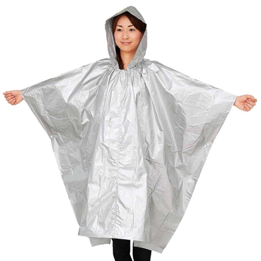 日本COGIT兩用緊急救難保暖鋁箔衣/鋁箔毯380501(防潑水/輕薄好攜帶)鋁箔保暖衣防災衣保温毯