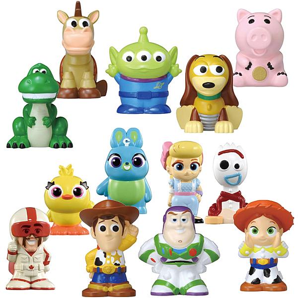 迪士尼 皮克斯 玩具總動員4 手指玩偶系列 (混裝)
