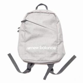 (NB公式)【ログイン購入で最大8%ポイント還元】 キッズ Kidsバックパック (グレー) バッグ 鞄 リュックサック/デイパック ニューバランス newbalance