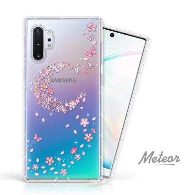 Meteor Samsung Galaxy Note10+ 奧地利水鑽殼 - 櫻月
