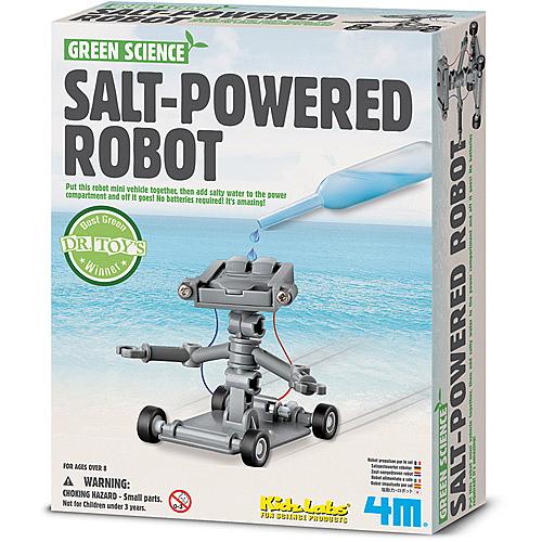【4M】03353 科學探索-鹽水動能機器人 Salt Water Power Robot