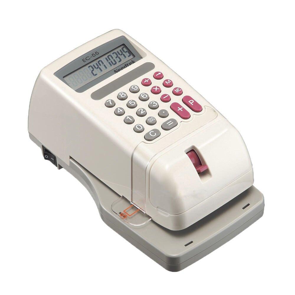 【二手福利品】優利達 Needtek EC-55 微電腦視窗中文支票機 - 國字中文款