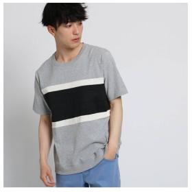 【ザ ショップ ティーケー/THE SHOP TK】 テクニカルボーダーTシャツ