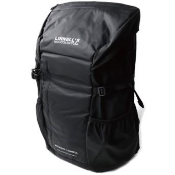 (マイケルリンネル) MICHAEL LINNELL バックパック リュックサック デイパック 32L 撥水加工 軽量素材 高耐久性 メンズ レディース F Black MLAC-02
