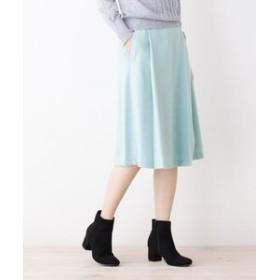【index:スカート】【her style.掲載】【42(LL)WEB限定サイズ】ウール混セミフレアスカート