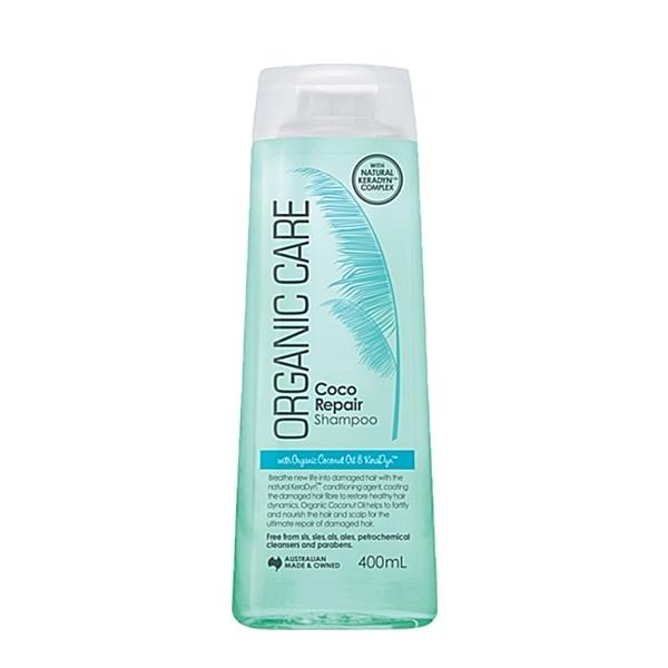 【澳洲Natures Organics】植粹椰子修護洗髮精400mlx4入-箱購