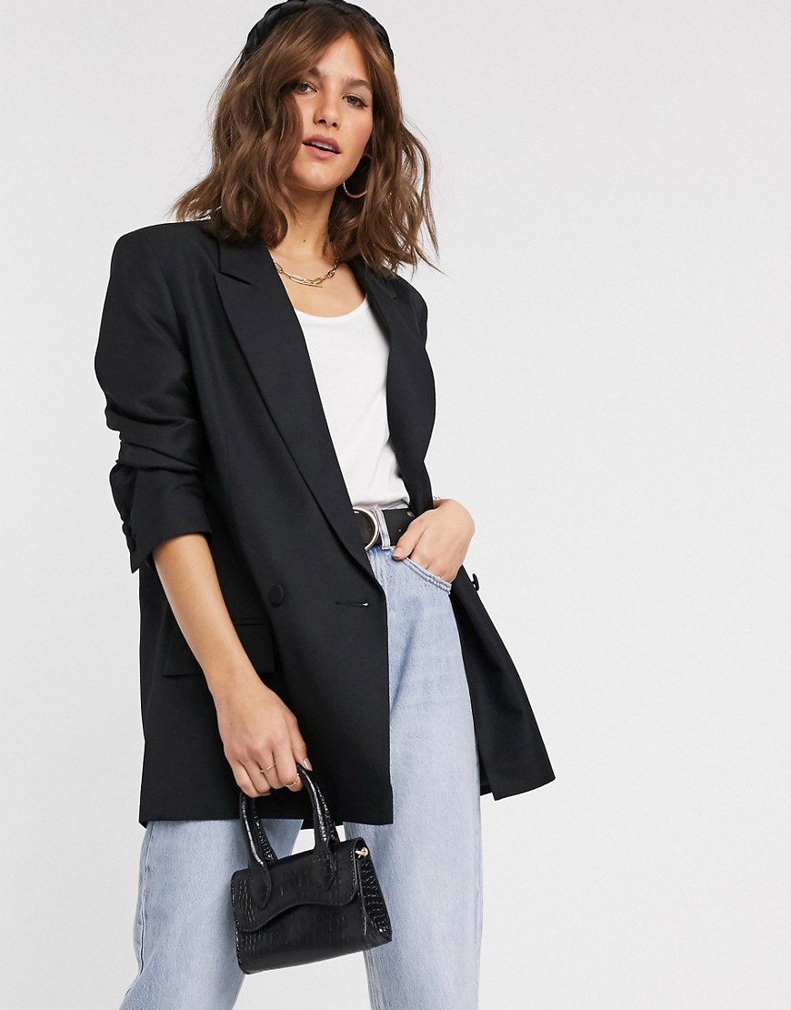 ASOS DESIGN perfect blazer black