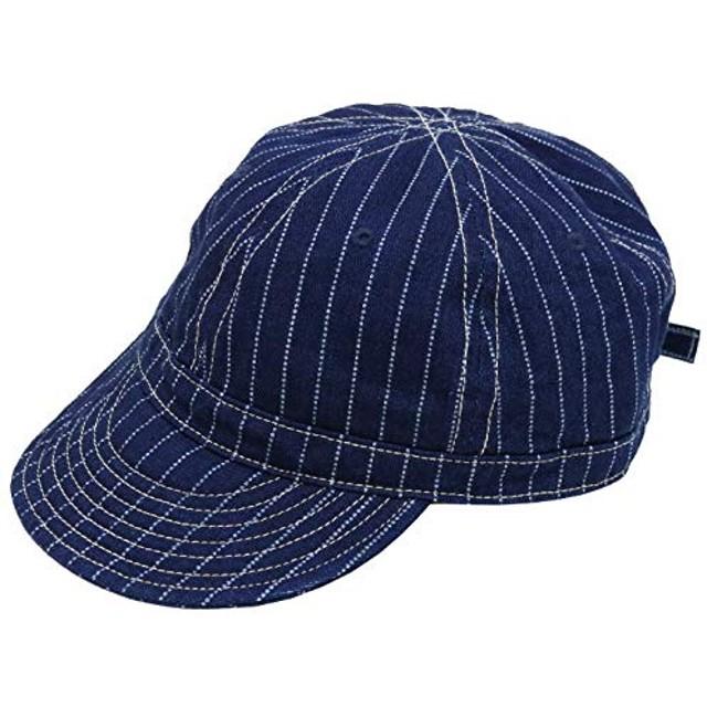 フェローズ PHERROW'S ワークキャップ ウォバッシュストライプ PWCC1-W メンズ レディース 日本製 帽子 FREE I.WABASH.インディゴウォバッシュ