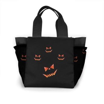 かぼちゃランタンインザダーク トートバッグ おしゃれ レディース バッグ 買い物バッグ ランチバッグ エコバッグ ハンドバッグ