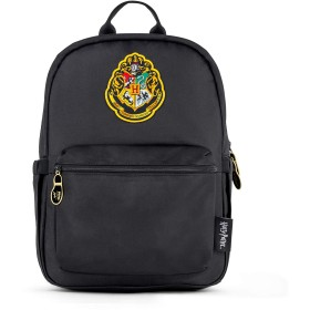 JuJuBe x ハリーポッター ミディバックパック   軽量多機能デイパック 子供と大人用 調節可能なストラップとボトルポケット付き   日常用バッグまたは学校用バックパック   いたずら管理