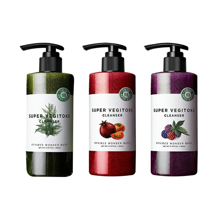 韓國 Wonder bath 蔬果洗面乳 300ml 潔面乳 洗顏乳 洗面乳 洗臉 卸妝 去角質