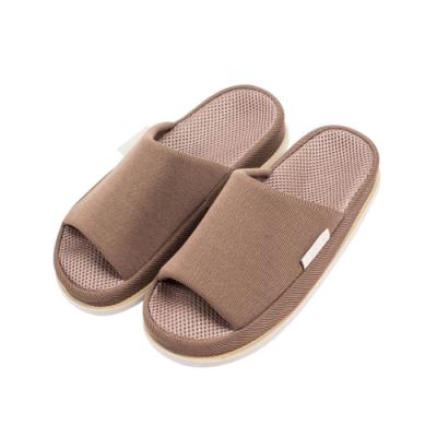 樂嫚妮 腳底舒壓穴道按摩室內拖鞋-眼睛-鞋長26cm