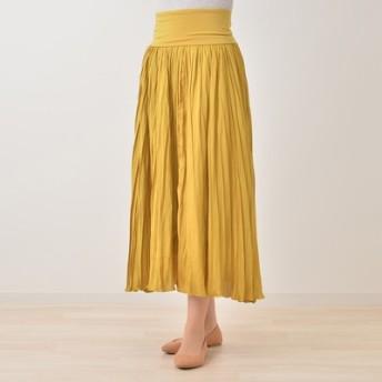 AN 2wayクリンクル風プリーツスカート