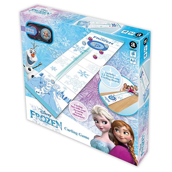 Disney Princess 冰雪奇緣Frozen 冰雪奇緣桌上冰壺